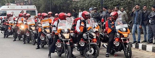 Bike ambulance service to be expanded to the entire city: Kejriwal