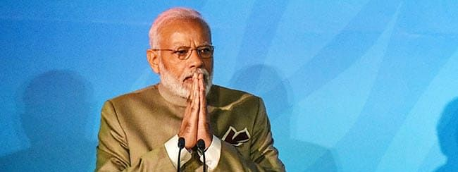 Climate challenge: PM bats for people's movement