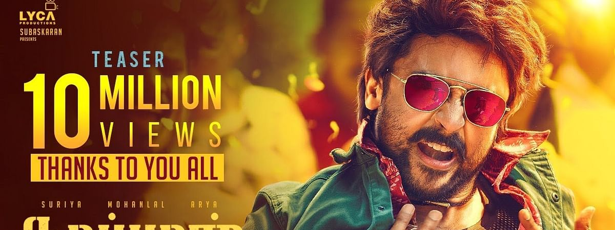 Much anticipation for Kaappaan trailer