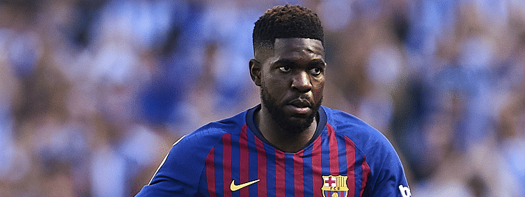 Barca defender Umtiti: I forced my knee during World Cup finals