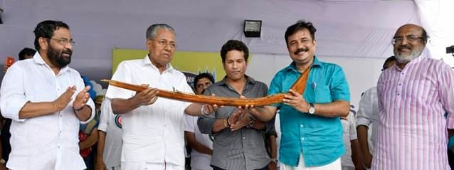 Kerala is world's centre stage of boat races: Sachin Tendulkar