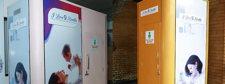 'I Love 9 Months' to install hi-end breast feeding pod at rly. stations