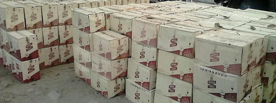 Liquor worth Rs 70 lakh recovered in UP