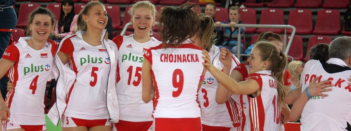 Poland too strong for Spain at European women's volleyball championship