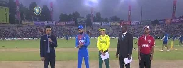 2nd T20: India win toss, opt to bowl vs South Africa