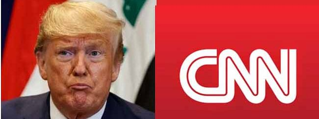 Trump's strange attack on CNN breaks Twitter