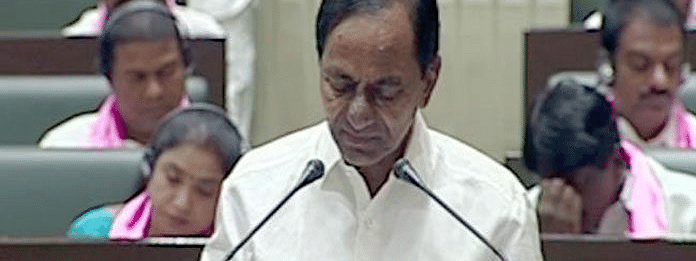 KCR presents Rs 1.46 lakh-cr budget