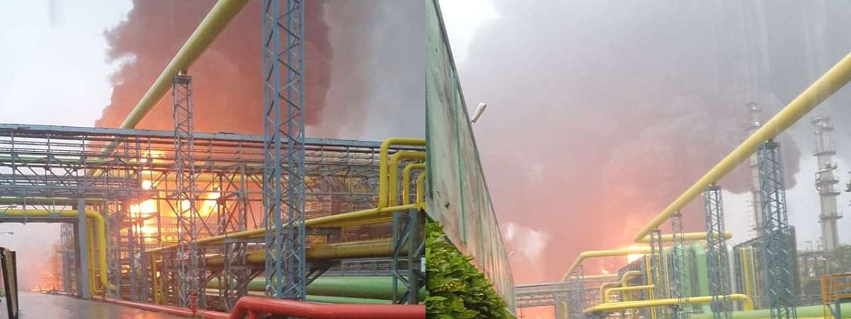 Mah: Five killed, 3 injured in ONGC plant fire