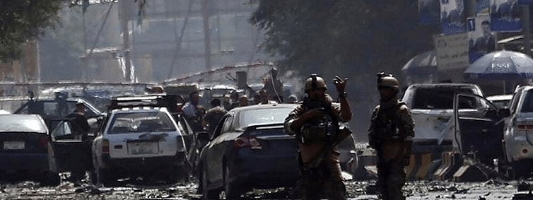 Ten killed, 42 injured as car bombing rocks Kabul