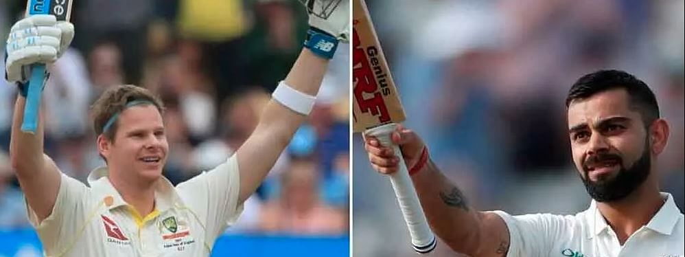 Kohli 34 points behind Smith in latest ICC Test Rankings