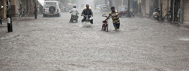 2 women killed as car washed away due to flood in Gujarat
