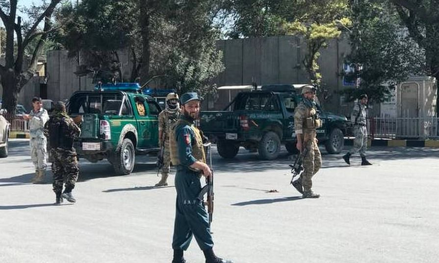 Blast kills 24 at Afghan President's rally