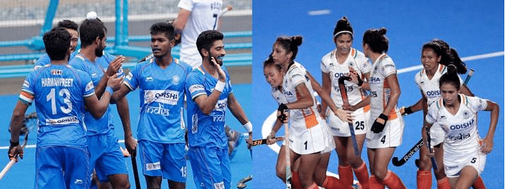 Men's hockey take on Russia, Women's play US in FIH Olympic Qualifiers