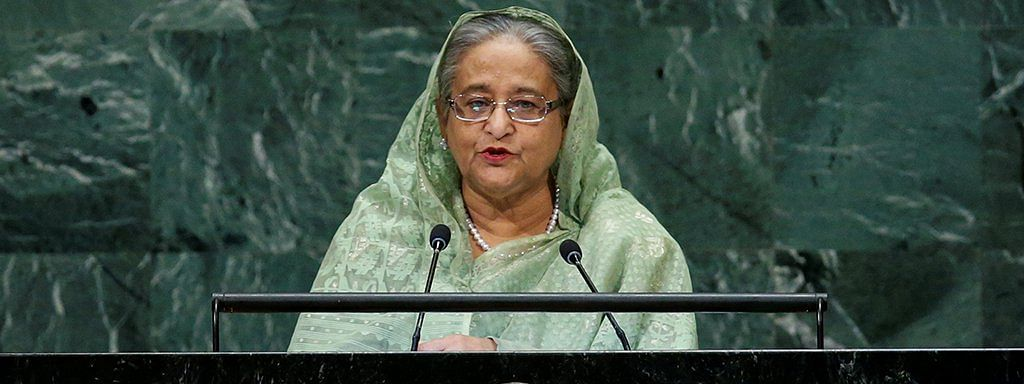 Sheikh Hasina speaks about Rohingya refugees at UN