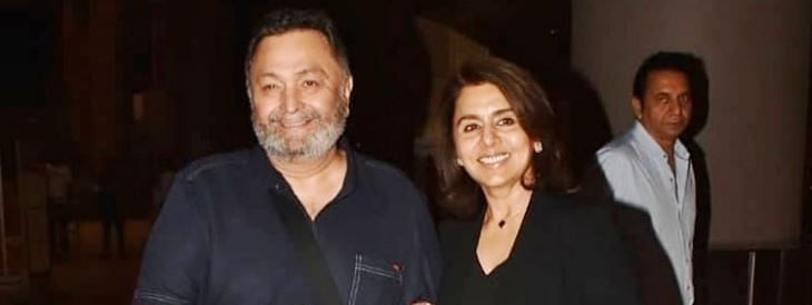 Rishi Kapoor returns home
