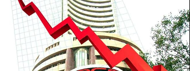 Sensex drops by 670 points as Oil Prices rise