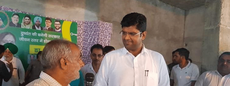 JJP chief Dushyant keeps both BJP and Congress guessing