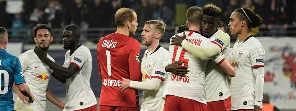 Russia's FC Zenit loses to Germany's RB Leipzig 1-2 in UEFA Champions League