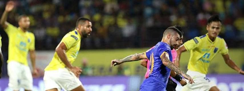 Mumbai City FC edge past Kerala Blasters FC 1-0 in ISL