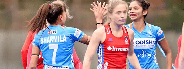 India held to a 2-2 draw by Britain in last match of tour
