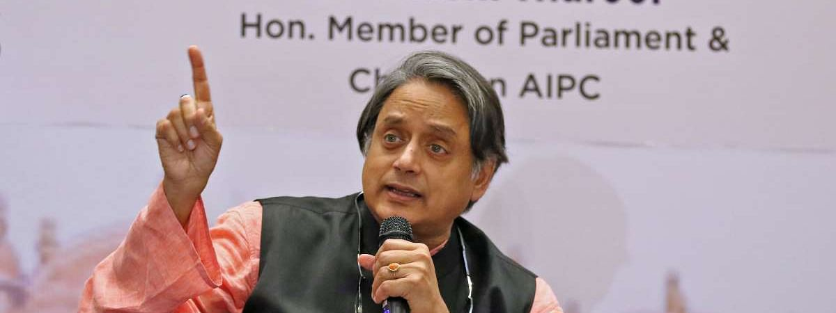 Tharoor hits out at Kashmir policy