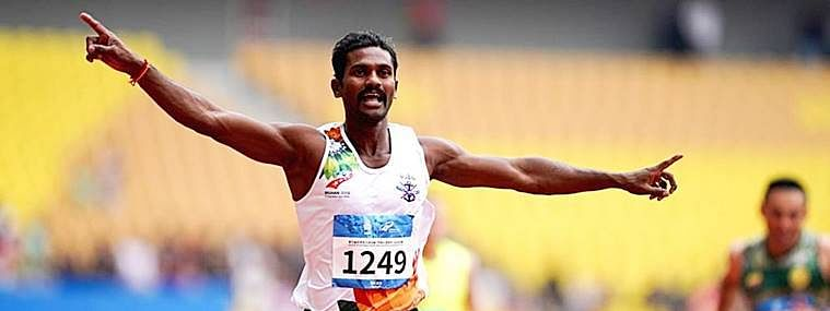 Subedar Anandan wins 3 Gold; qualified for Tokyo Olympics