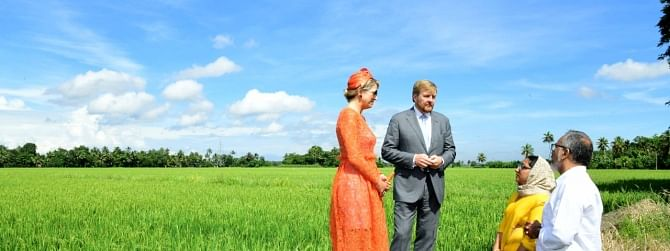 Netherlands' King and Queen get welcome in Alappuzha