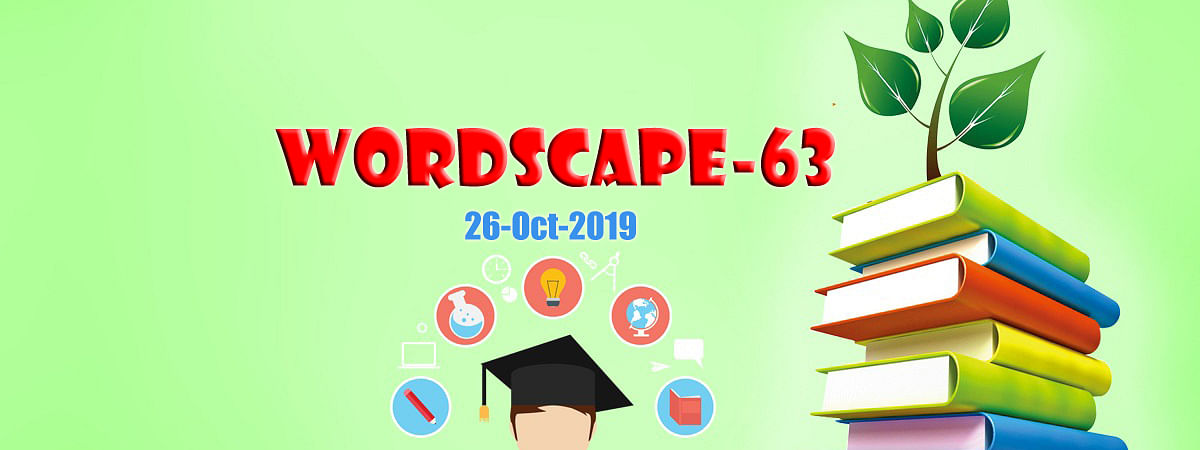 Wordscape-63: Know these words