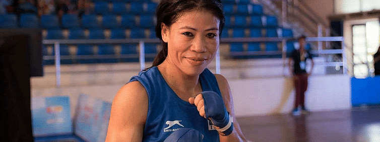 Mary enters quarters; a step away from 8th medal, Saweety exits at Worlds