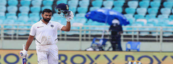 Day 4 1st Test: Rohit Sharma's ton put India in driver's seat