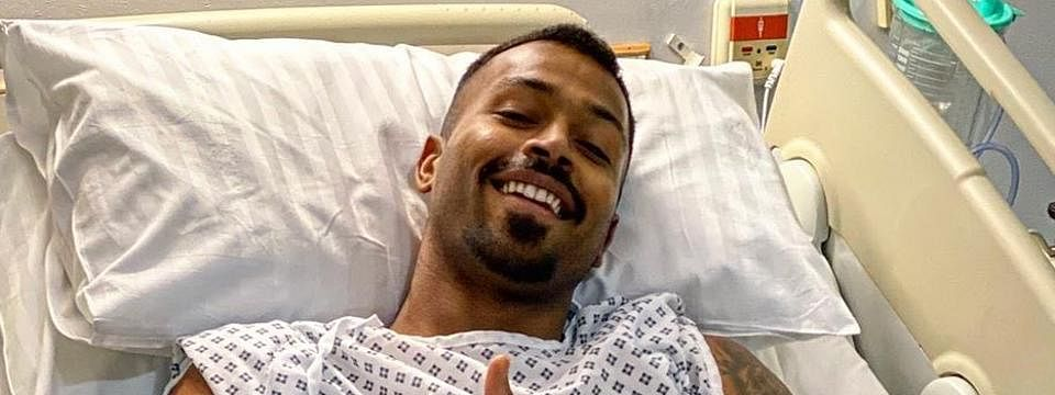 Hardik undergoes a successful surgery for an acute lower-back injury