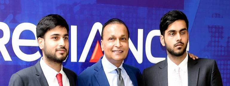 Reliance Infra appoints Anil Ambani's sons as directors
