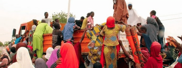 More than 140,000 displaced in northeast Nigeria
