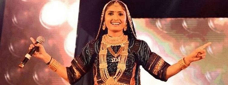 Gujarati folk singer Geeta Rabari tests positive for Dengue