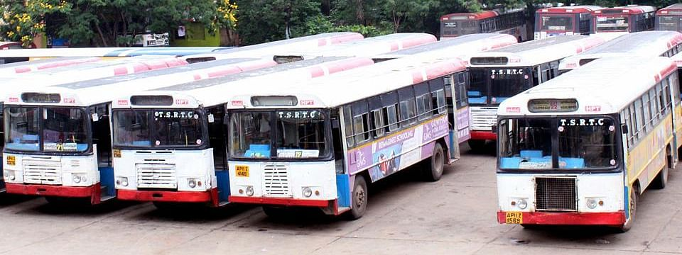 TSRTC strike enters 27th day ; commuters remain helpless
