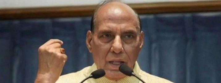 Rajnath hikes monetary aid of battle casualties to Rs 8 lakh