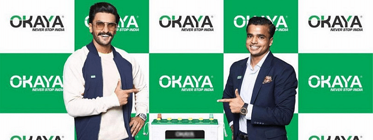 Okaya Power Group signs superstar Ranveer Singh as brand ambassador