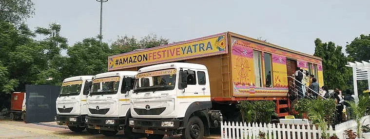 Amazon Festive Yatra reaches Hyderabad