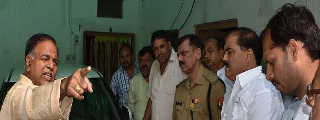 Two held for attacking BJP dist president in Mainpuri