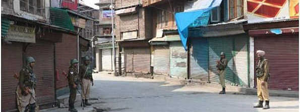 Kashmir strike from Aug 5 continues