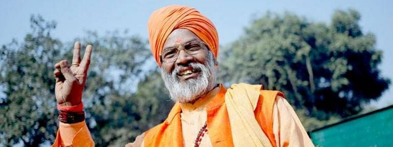 Ram temple construction will commence from Dec 6: Sakshi Maharaj