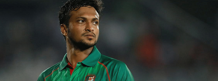 Bangladesh captain Shakib Al Hasan is banned for two years