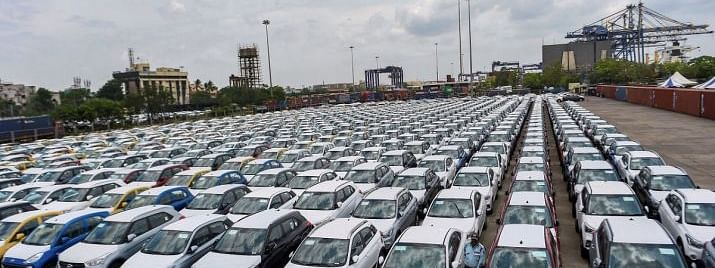 Passenger vehicle sales down by 24 per cent, commercial by 62 per cent