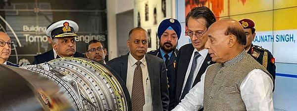 Rajnath tells defence firms in France to make India production base