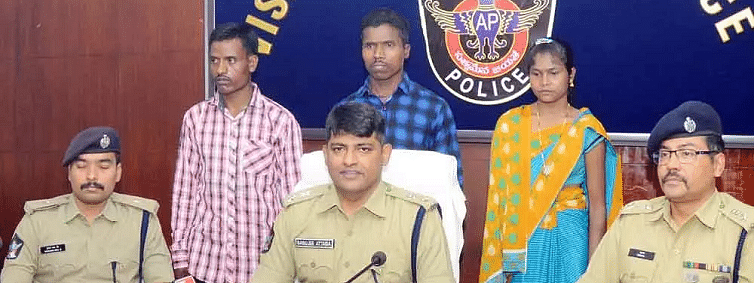 Three Maoists, including woman Maoist, surrendered in AP