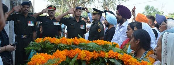 Capt Inderjeet cremated with full military honours