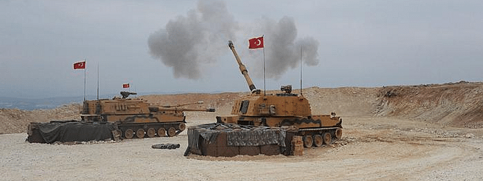 Turkey Syria offensive: Heavy fighting on second day