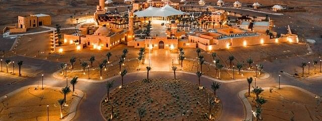 Tourist hotspot Al Badayer Oasis welcomes guests in UAE