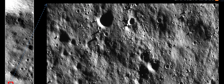 ISRO release images of moon's surface by Chandrayaan-2's Orbiter