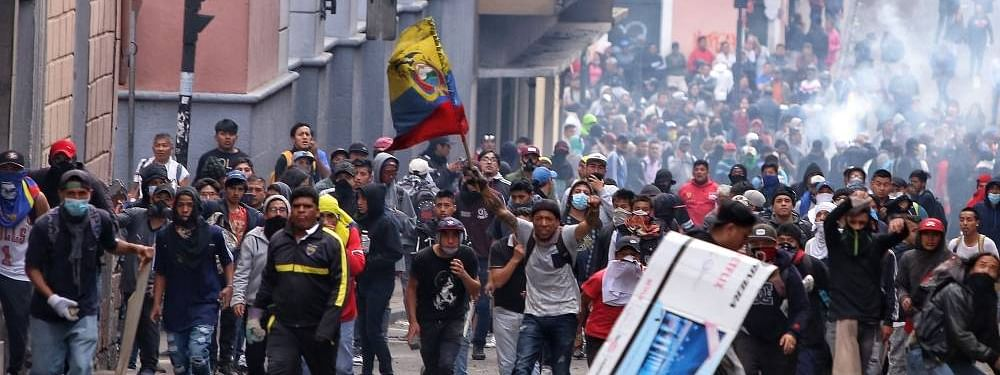 Protesters in Ecuador block production in oil fields: Ministry